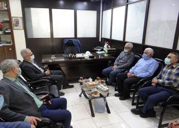 دیدار فرماندار شهرستان علی آباد کتول با شهردار به مناسبت گرامیداشت روز شهرداری ها
