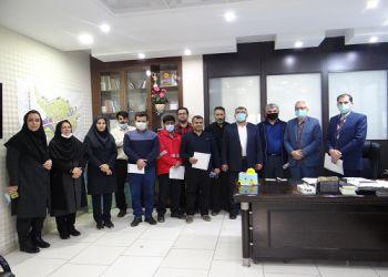 برگزاری مراسم نکوداشت روز مهندس و تجلیل از مهندسین شهرداری
