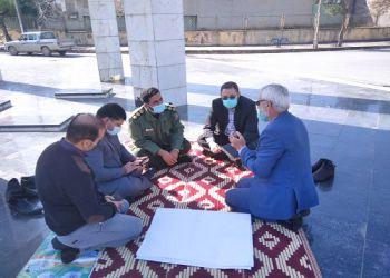 نشست صمیمی شهرداربا مدیرکل حفظ آثار و نشر ارزش های دفاع مقدس استان گلستان